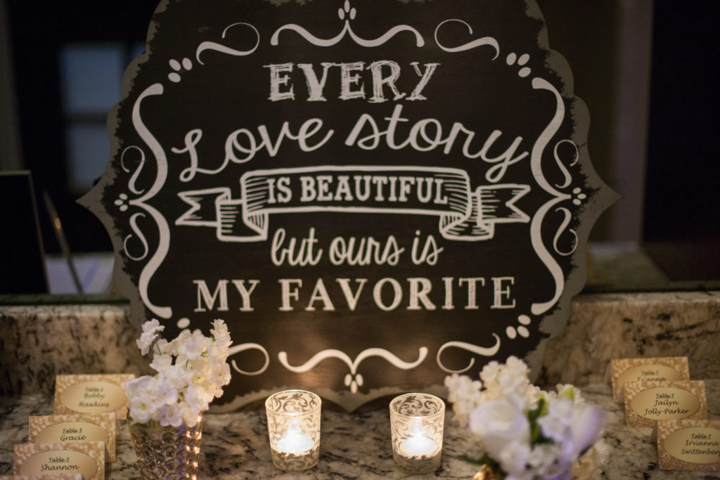 Plan a wedding in six months - Decor