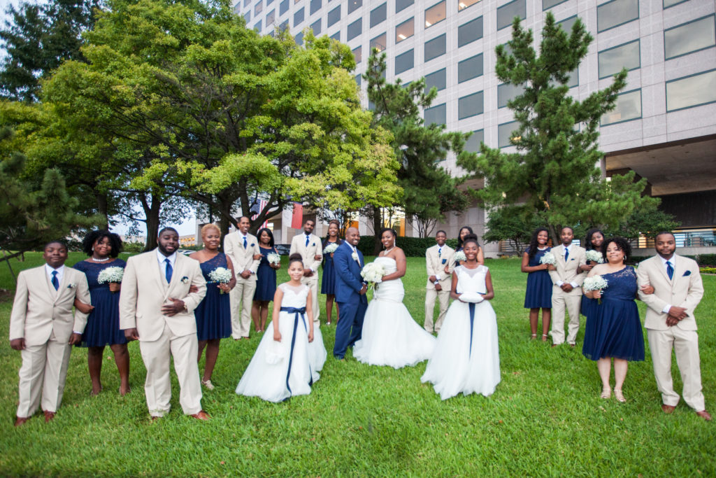 Plan a wedding in six months bridal party